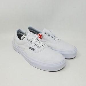 Vans Era White Skate Sneakers Men's US Size 4 New